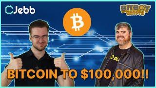 Bitboy Crypto and I discuss Bitcoin going to 100,000?!!