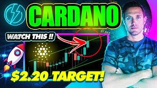 CARDANO CONTINUES PARABOLIC RISE! DID YOU SEE THIS $2.20 ADA TARGET?!
