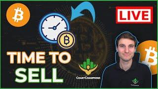 MARKET CRASH INCOMING?!! Bitcoin + Ethereum Technical Analysis Live Price.