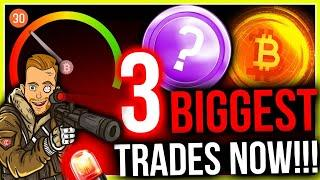 THREE BIGGEST ALTCOIN TRADES?? KEY INDICATOR SCREAMING BUY NOW!!