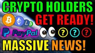 BREAKING: Paypal Ethereum Smart Contract MASSIVE NEWS! PayPal Adding More Coins! Top NFT Altcoins!