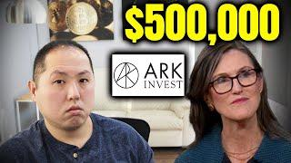 Bitcoin Worth $500,000 According to Cathie Wood of Ark Invest