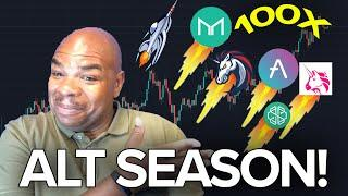 Altcoin Season is here!!! Even with Bitcoin PUMPING!!!