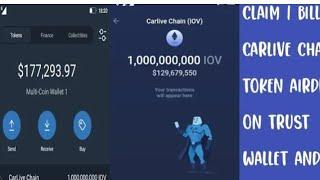 How to Claim Free $17,000 CarLive Chain Token FAST! | Cryptocurrency Airdrop