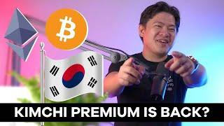 (Monday): Updated my cryptocurrency holdings? Plus: Is South Korea's Kimchi premium back?