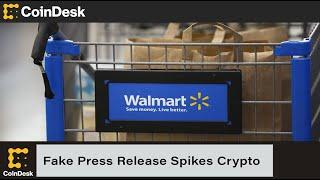 Litecoin Spikes Almost 20% From Fake Walmart Press Release