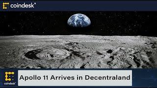 Apollo 11 Arrives in Decentraland on 52nd Anniversary of Moon Landing
