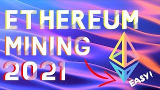 How To Mine Ethereum - Full Tutorial (EASY MINER HASH SOFTWARE   Windows 10)  IN 2021
