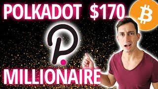 POLKADOT (DOT) MILLIONAIRE: Is it Mathematically Possible or Risky? | Get Rich with Crypto 2021