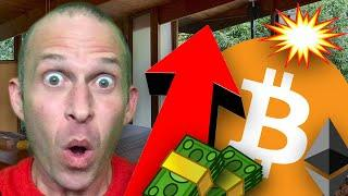 EMERGENCY  BITCOIN REPEATS **INSANELY** BULLISH PATTERN!!!!! WATCH BEFORE WEDNESDAY!!!!!