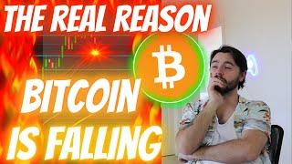THE REAL REASON BITCOIN IS FALLING... IT'S DEFINITELY *NOT* WHAT YOU THINK!