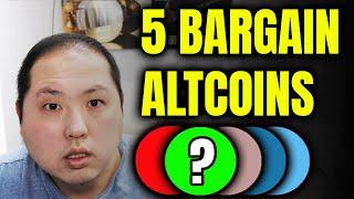 DON'T MISS THESE 5 BARGAIN ALTCOINS WHILE BITCOIN IS SLEEPING!!!