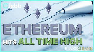 Ethereum Price Breaks New Record- Where does this Ethereum Rally end??Blank2Bank