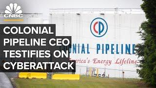 Colonial Pipeline CEO Joseph Blount testifies on ransomware attack before Congress — 6/8/2021