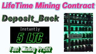 Free Bitcoin Mining | Lifetime  Mining Contract  | SHa-256 Payment | Crypto Cloud  Mining 2021