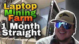 Laptop Mining Crypto for 1 Month