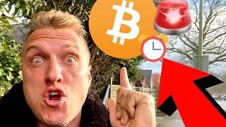 THE LAST HOURS ARE TICKING FOR BITCOIN RIGHT NOW!!!!!!!!!!!!!!!!