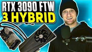 EVGA RTX 3090 FTW3 Hybrid Install and Review