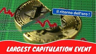The Largest Capitulation Event | Bitcoin, Gold & Fear of Loss