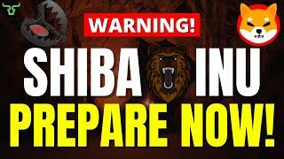 SHIBA INU PREPARE NOW!!! THIS IS GOING TO BE WORSE THAN 2008 CRISIS!