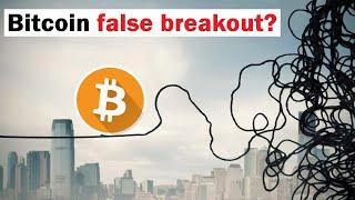 """What Could Bitcoin's """"False Breakout"""" Pattern Mean?"""