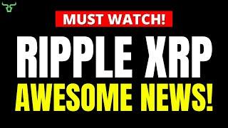 Ripple XRP AWESOME NEWS!!! Watch in 24Hrs! | Brad Garlinghouse