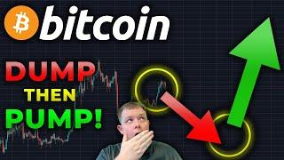 CAUTION!!! BITCOIN DUMPING BEFORE HUUUGE PUMP UP TO $12,000 BY END OF NEXT WEEK!!!