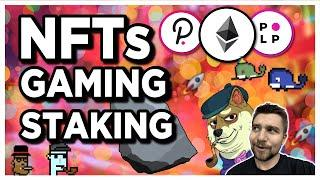 DeFi and NFTs are the best investments! PolkaParty combines NFTs, Gaming, and Staking!
