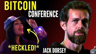 Jack Dorsey HECKLED on Stage! Bitcoin Conference 2021 Miami - Jack Dorsey Highlights (NEW)