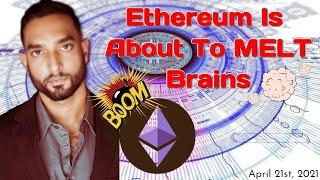 Ethereum Is About To MELT Brains - Daily Cryptocurrency News LIVE: Bitcoin, Ethereum, & Much More!