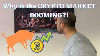 Why Is The CRYPTO MARKET BOOMING?! Elon Musk?! Tesla?!