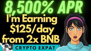 I'm Earning $125/Day From 2 X BNB In New VALUE DEFI BSC Platform (Only 48Hours Old)