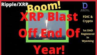 Ripple/XRP-XRP Price Blast Off By End Of Year,BIS,PSE,FDIC & Crypto,Tokenizing Gold,Silver,Platinum