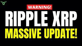 Ripple XRP MASSIVE UPDATE!!! You Need To Know This!