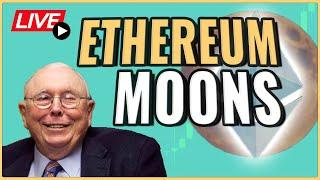 Ethereum Mooning! Reviewing our Ethereum Price Prediction + What to know! Coffee And Crypto Live