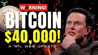 BITCOIN HITS $40,000!!! They're Not Partnering With Amazon!